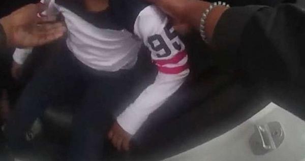 U.S. police beat five-year-old boy